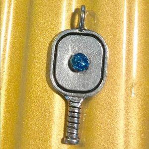 Pickleball necklace pendant